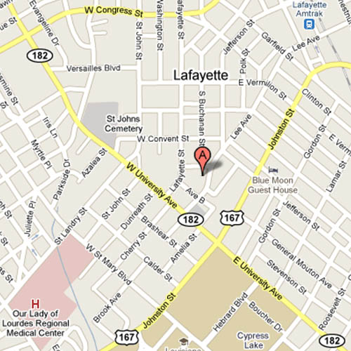 first lafayette map